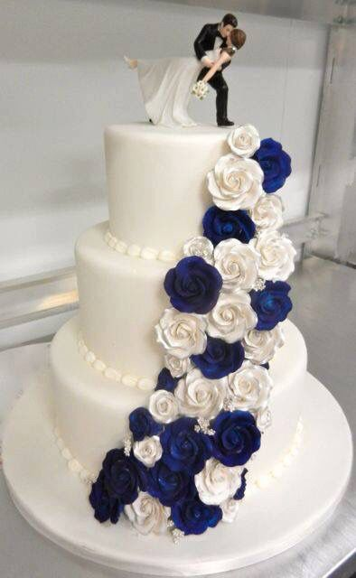 blue wedding cakes pictures modelos de tortas 12020