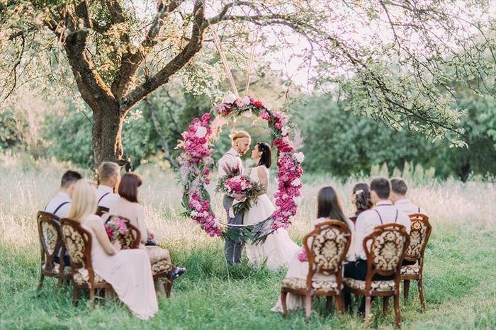 Ideas de decoración para matrimonios íntimos 1