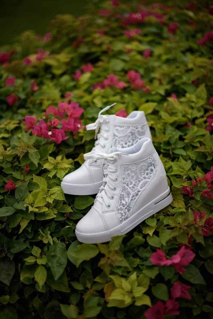 Mis zapatillas de novia