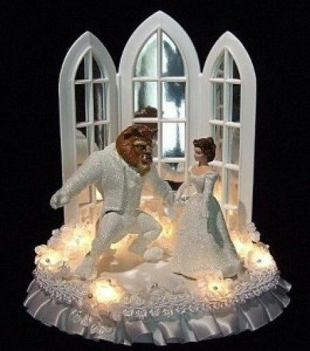 beauty and the beast cake topper la y la bestia la torta 1622