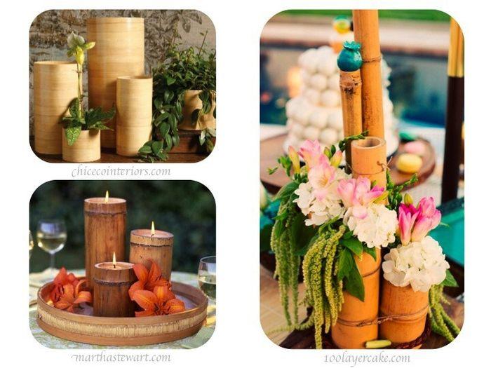 Arreglos de mesa con bambu arreglos de mesa con bambu for Bambu seco para decoracion
