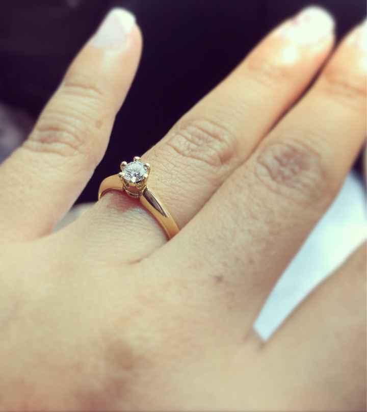 ¿Has mirado anillos de compromiso antes de la pedida? - 1