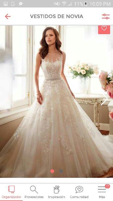3c4a010f7 Vestidos de Novia   Corte princesa