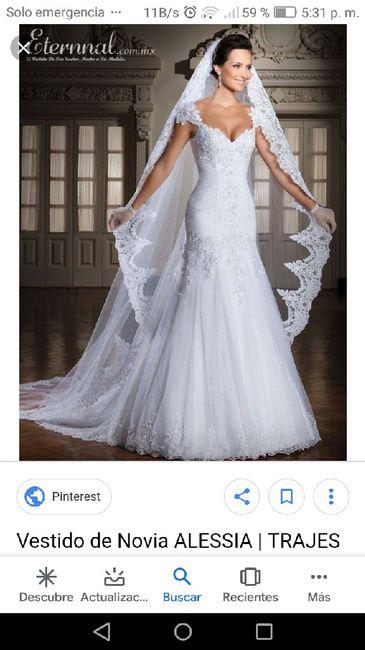 """Hoy le doy el """"Sí acepto"""" a... este vestido 3"""