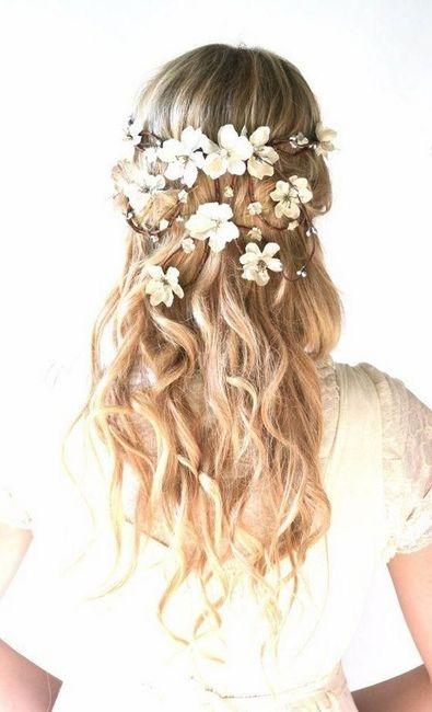Casarse en verano. : el peinado - 3