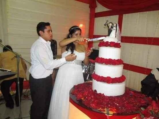 Mi matrimonio: la torta - 2
