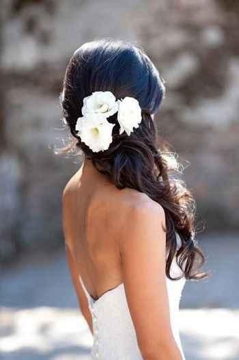 Casarse en verano. : el peinado - 1