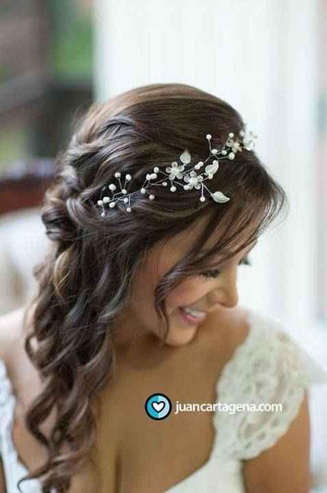 Casarse en verano. : el peinado - 2