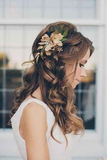 Casarse en verano. : el peinado - 4