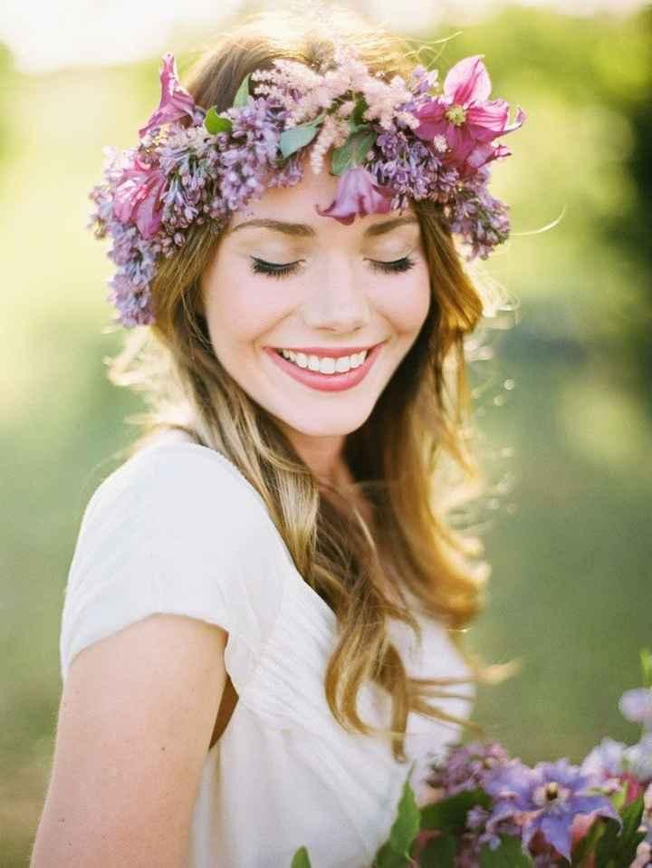 Casarse en verano. : el peinado - 6