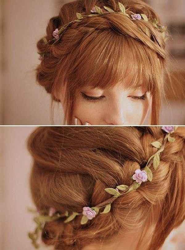 Casarse en verano. : el peinado - 7