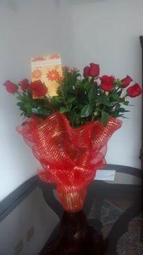 Mis flores bellas en mi pedida de mano <img class=