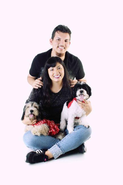 ¿Son una pareja con mascotas? 2