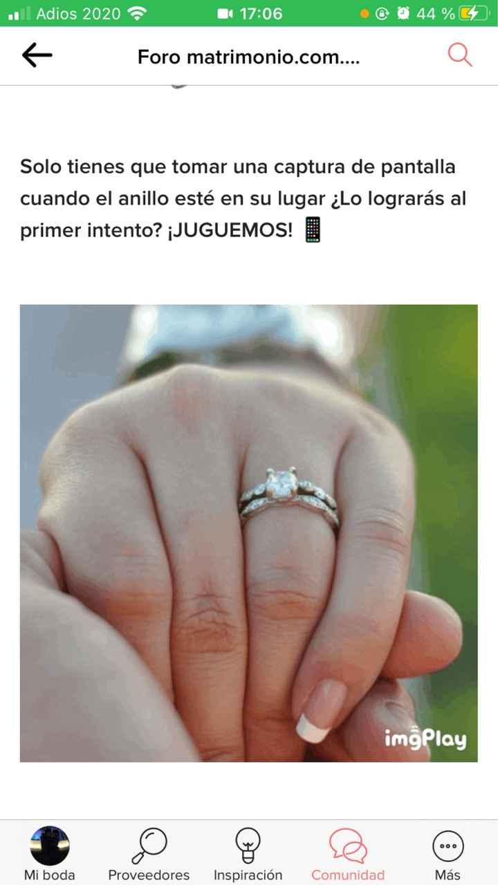 Ponle el anillo a la novia 💍  ¿Aciertas? 🤭 - 1