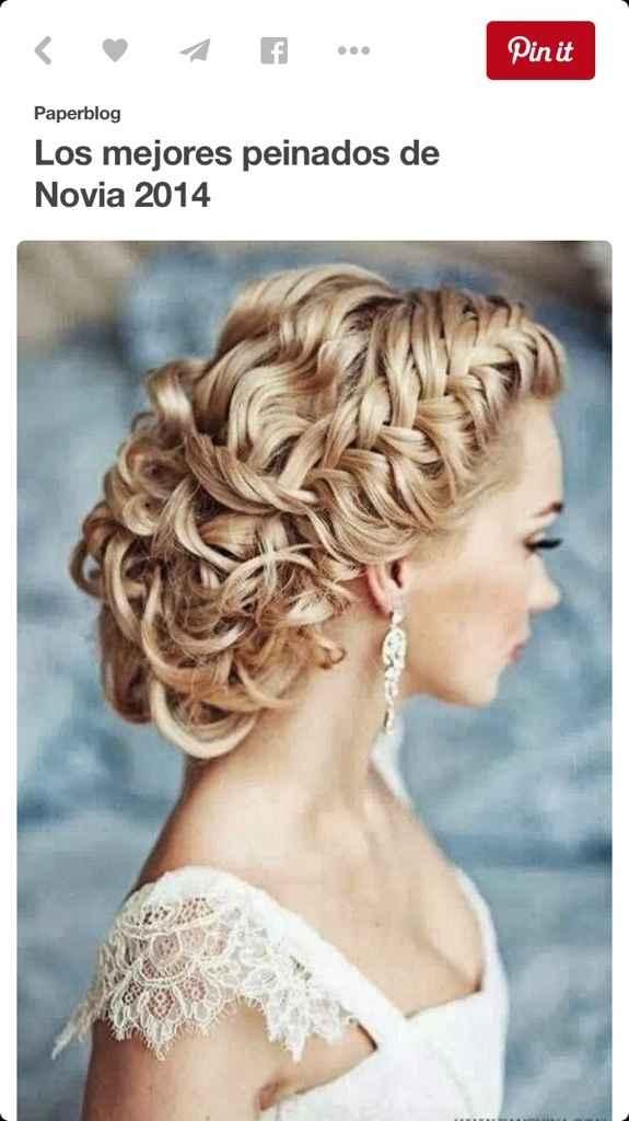 Sueños de una novia... el peinado - 1
