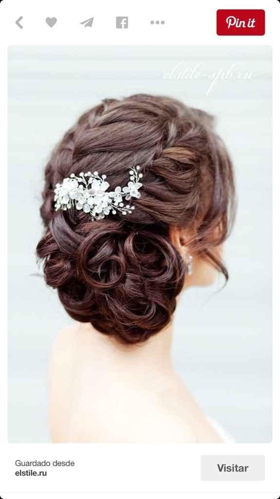 Sueños de una novia... el peinado - 2