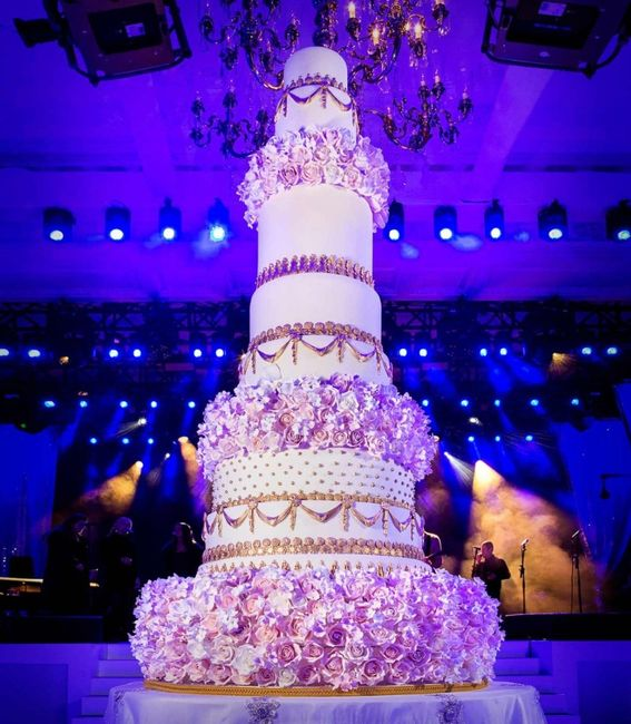 4 novias, 4 estilos - La torta 5