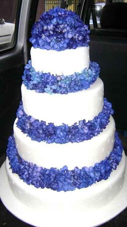 Las flores de nuestra torta