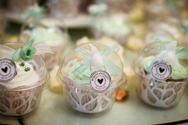 Torta de matrimonio o cupcakes en tu mesa de dulces? - 3