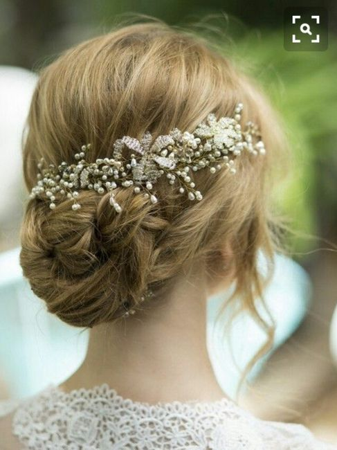 ideas de peinados y complementos para novias sin velo - Peinados De Novia Con Velo