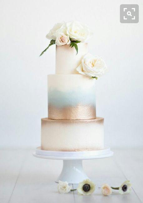 3 tortas de matrimonio clásicas. ¿Cuál eligen? - 1