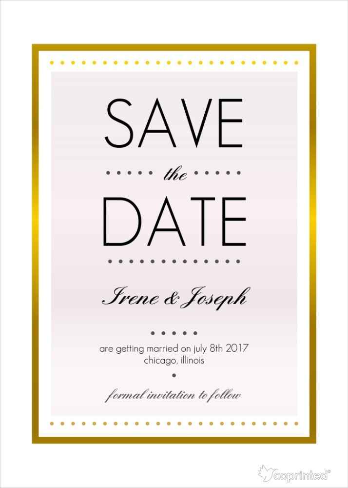 Save the date - mod. 3