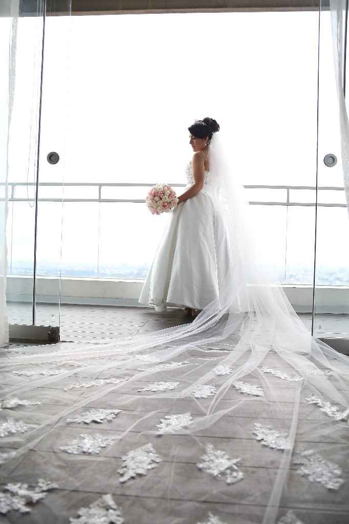 Mi vestido de novia 2 en 1!!! - 2