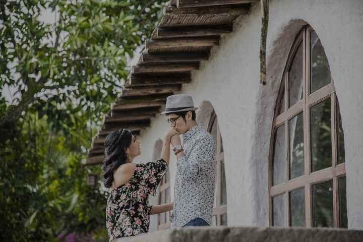 Nuestra romántica sesión pre-boda ❤️ - 8