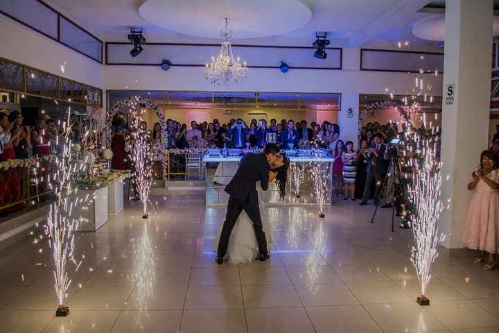 Final de nuestro primer baile de esposos