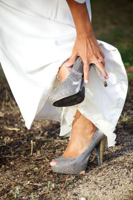Consejos para elegir los zapatos de novia 2