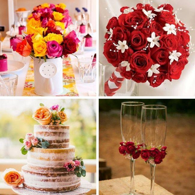 Tipos de Flores para la decoración 1