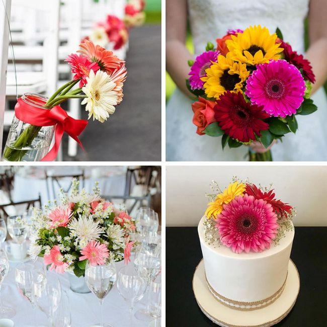 Tipos de Flores para la decoración 3