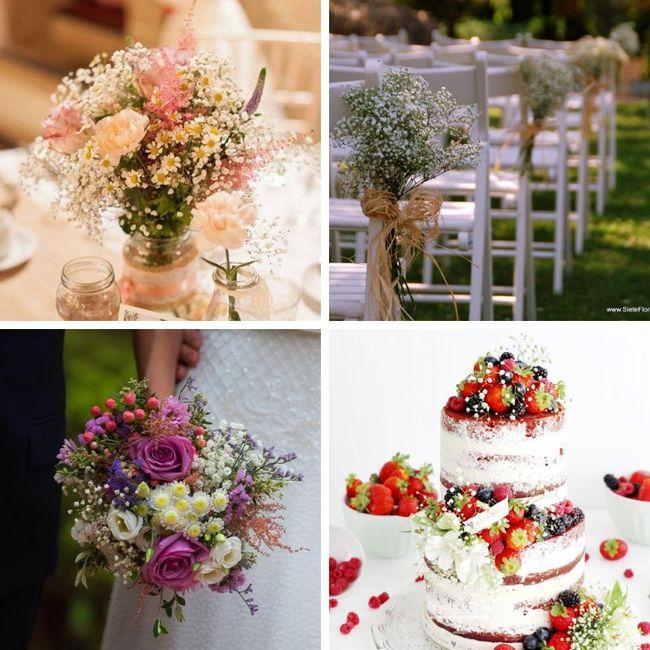 Tipos de Flores para la decoración 4