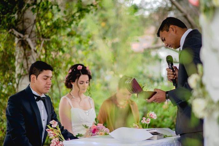 ¿Ceremonia Civil, Religiosa o Representativa? 1
