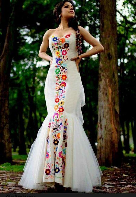Vestido de Novia estilo Peruano 1