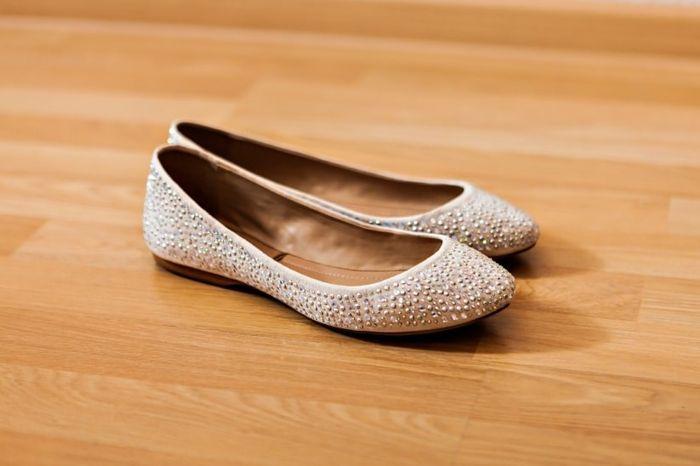 Zapatos bajos para novia 4