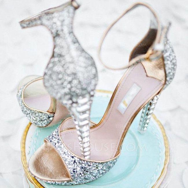 Lo ultimito para tu look de novia - Los zapatos 1