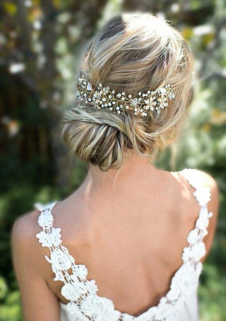 Lo ultimito para tu look de novia - El peinado 1