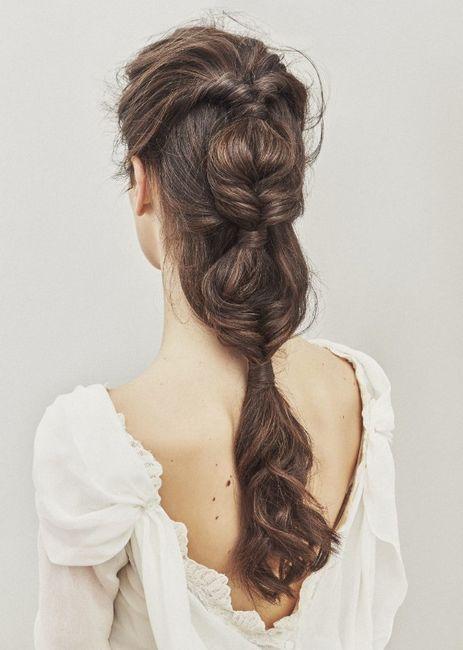 Lo ultimito para tu look de novia - El peinado 2