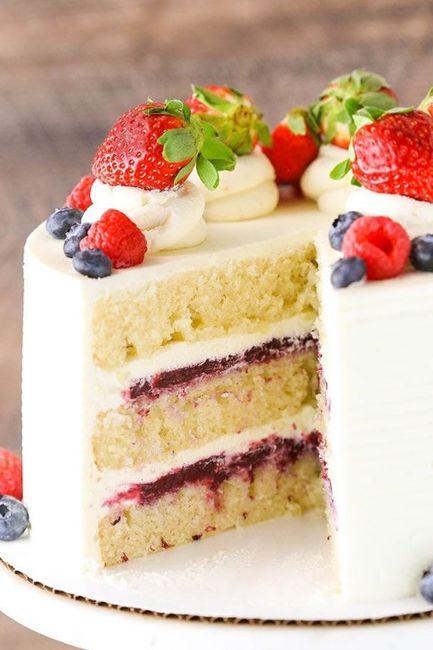 ¿De qué sabor será tu torta de matrimonio? 3