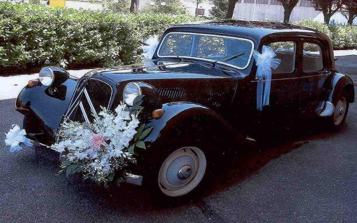 Ideas para decorar el auto de novios 2