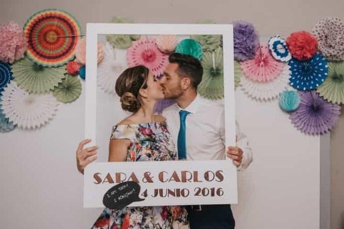 Un photocall para tu boda 6