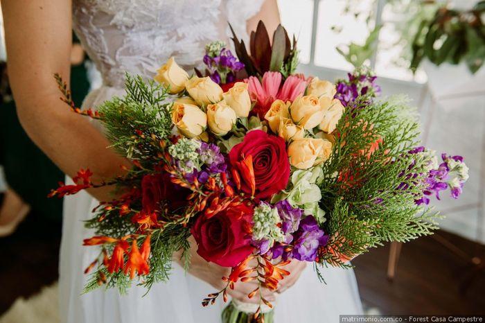 El bouquet: ¿A o B? 2