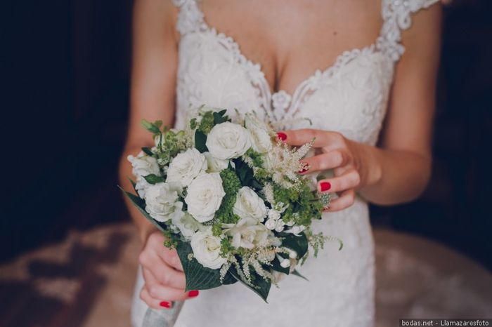 El bouquet: ¿a cuál blanco le atinas? 1