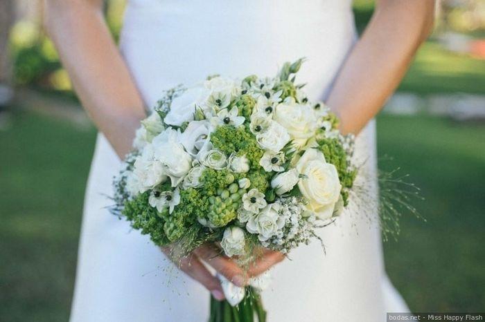 El bouquet: ¿a cuál blanco le atinas? 2