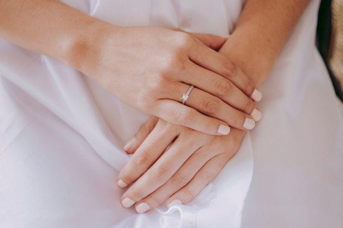 ¿En qué momento usas tu anillo de compromiso? 1