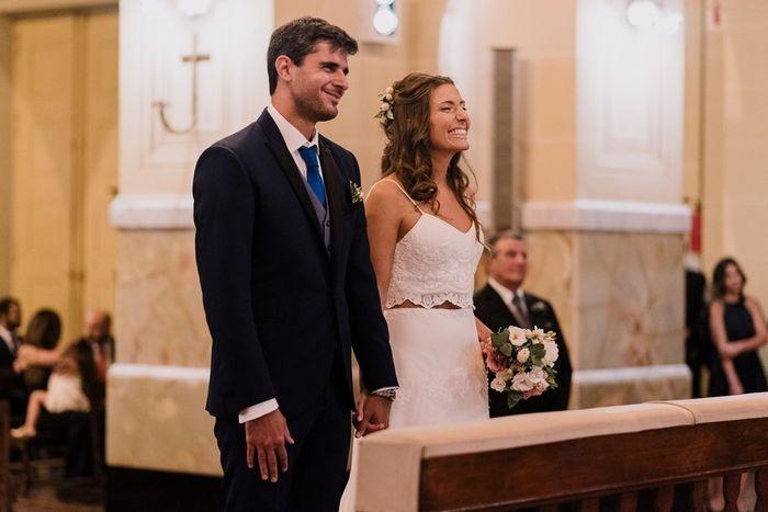 Vestido de novia en dos piezas 4