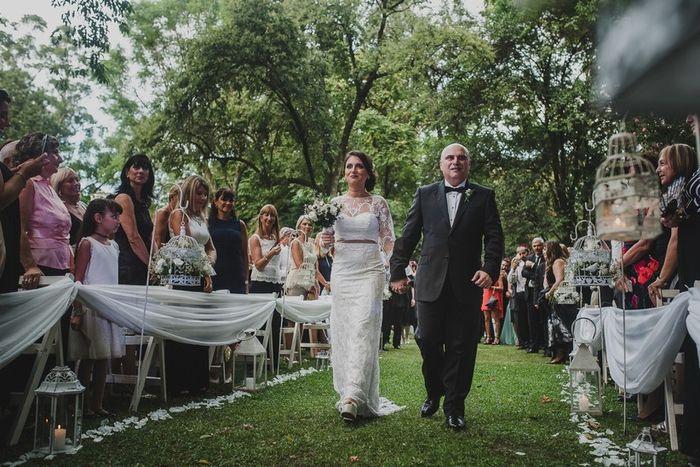 Vestido de novia en dos piezas 5
