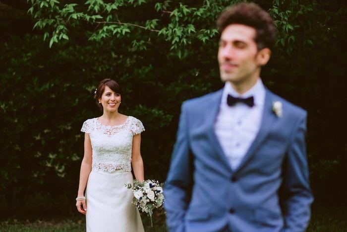 Vestido de novia en dos piezas 6
