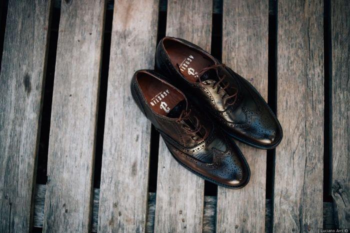 Estos zapatos de novio: ¿cuál aprueba y cuál jala? 1